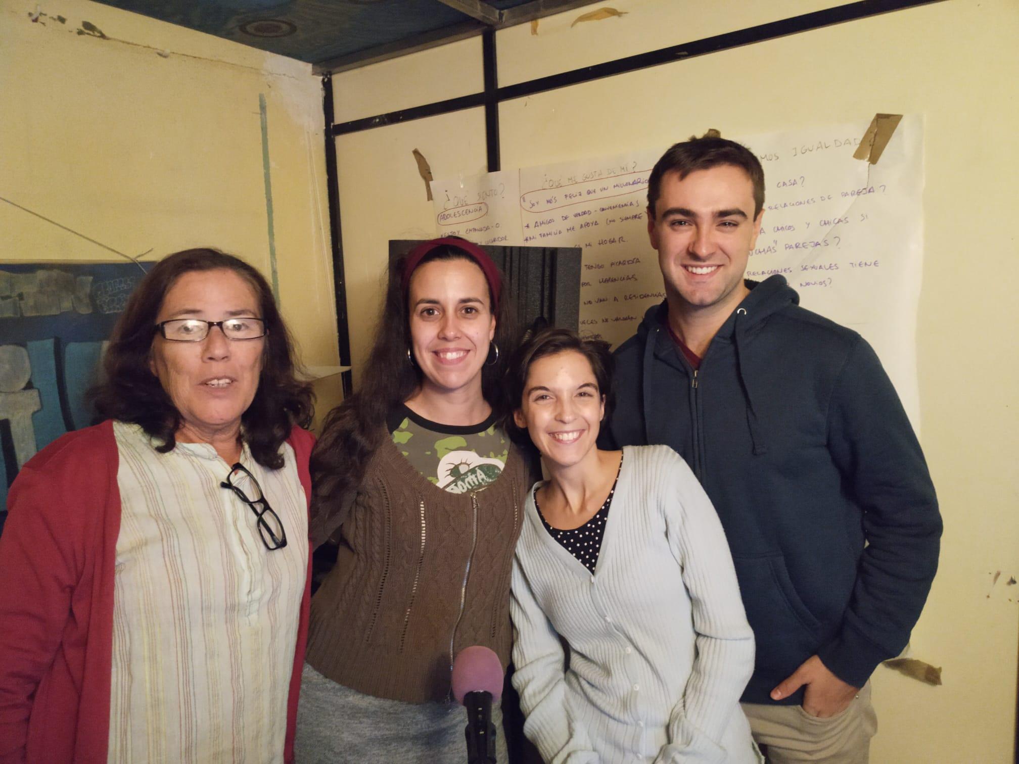 La Jose y Mimi en Radio Moratalaz